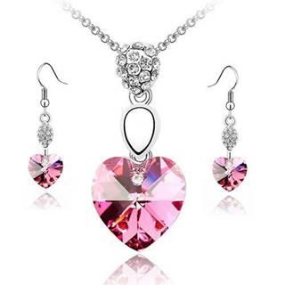 Set HEART - Ružová