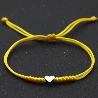 Náramok Dear Heart-Žltá