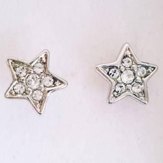 Náušnice Sweet Stars SWAROVSKI-Strieborná
