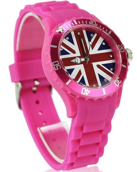 Hodinky Británia-Ružová