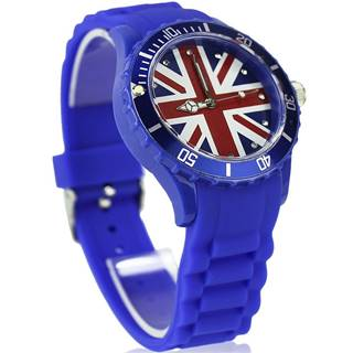 Hodinky Británia-Modrá