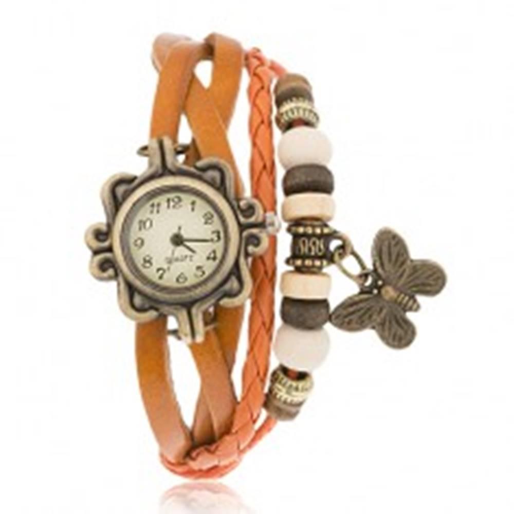 Analógové hodinky, ozdobne ...