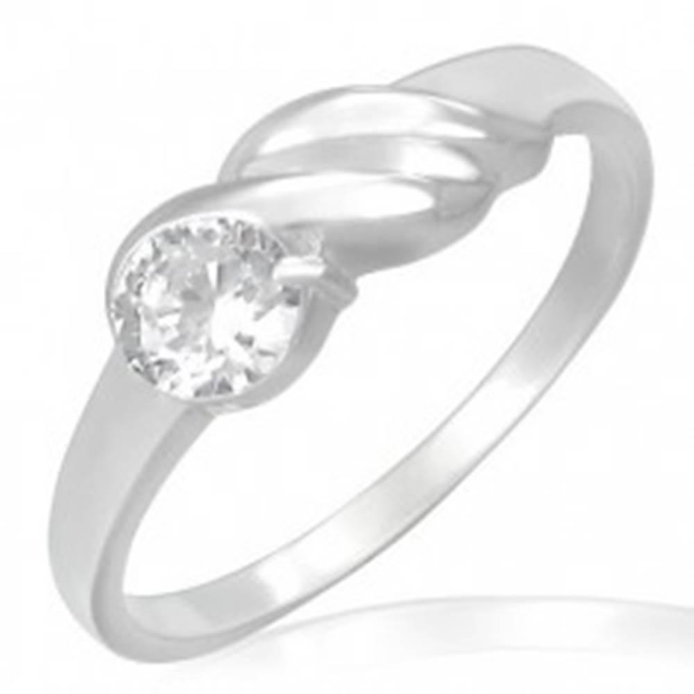 Zásnubný prsteň z ocele - t...