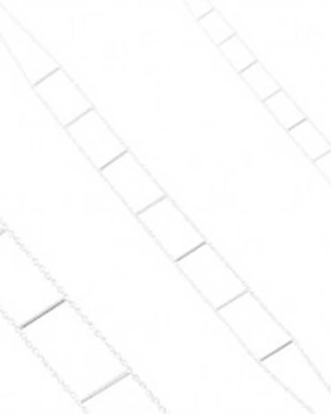 Náhrdelník zo striebra 925, dve retiazky spojené rovnými paličkami