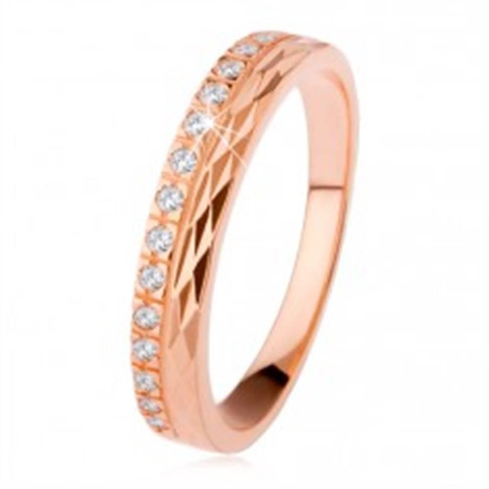 Strieborný prsteň 925 meden...