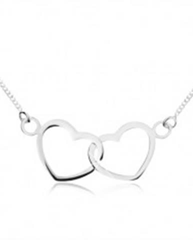 Strieborný náhrdelník 925 -...
