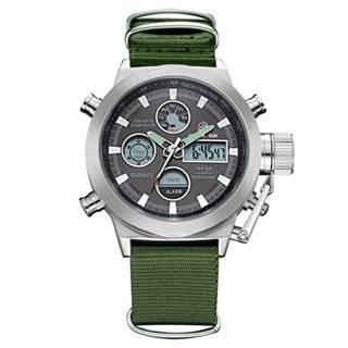 Hodinky Hugo-Zelená/Strieborná