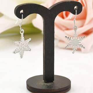 Náušnice Snowflake Star