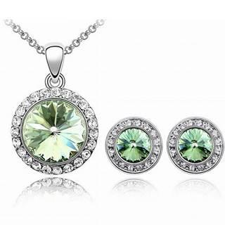 Set šperkov Blaze - Zelená